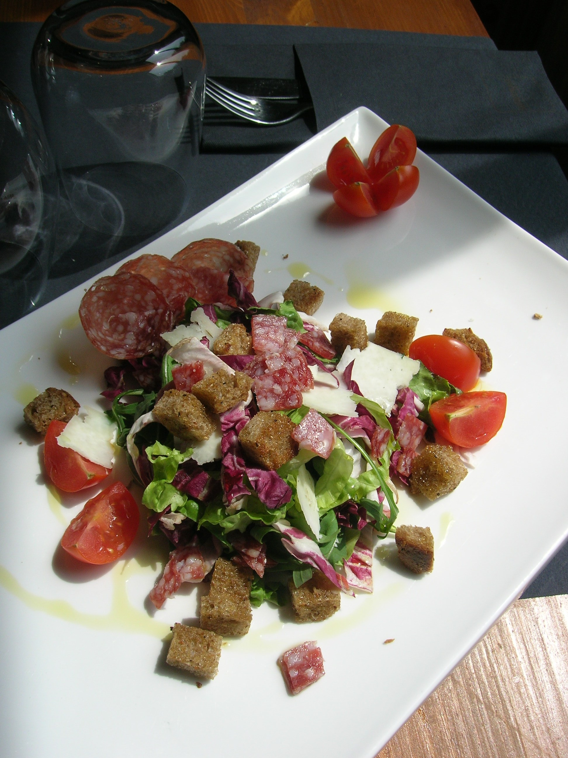 Vitale Recipes – Milano Salami salad