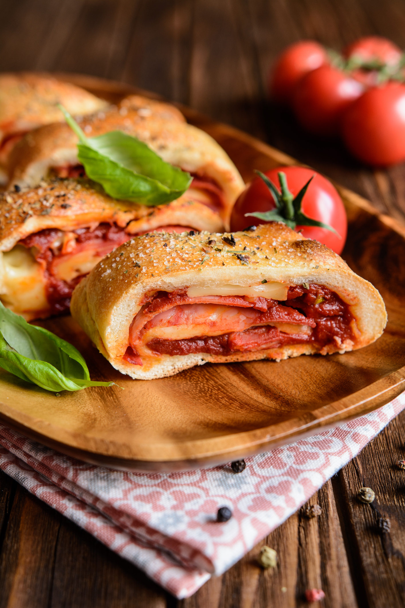 Vitale Recipes – Hot Spianata pizza