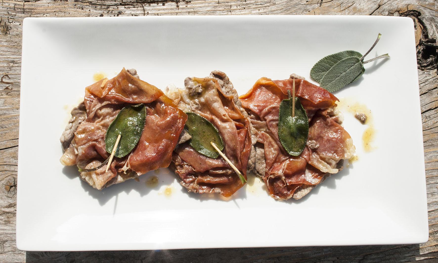 Vitale Recipes – Saltimbocca alla Romana