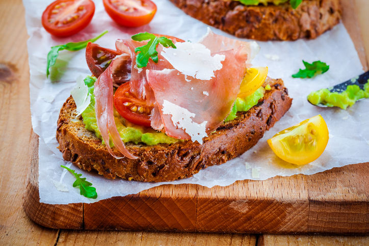 Vitale Recipes – Prosciutto Crudo with bruschetta